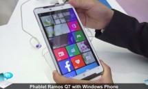 重さ237gの7型Windows Phone『Ramos Q7』が中国FCC通過