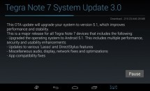 『Tegra Note 7』にAndroid 5.1 OTAアップデート配信開始