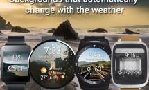 スマートウォッチに天気・温度情報を追加『Weather Time for Wear』リリース、Android Wearアプリ