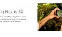 Nexus 5Xのフルスペック情報がリーク、5.2型フルHD/Snapdragon 808/RAM2GBなど