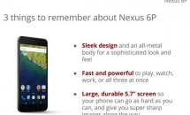 Nexus 6Pのプレゼン画像リーク、画面サイズ5.7インチ/3,450mAhなどスペック判明