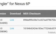 Nexus 6P向けAndroid 6.0 Marshmallowファクトリーイメージが公開