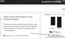 BlackBerry Privは10月23日に予約注文スタートか