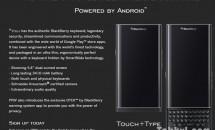 デュアル曲面5.4型『Blackberry Priv』事前登録ページと一部スペックを公開
