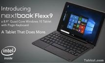 E FUN、139ドルのキーボード付きWindows 10タブレット『Nextbook Flexx 9』発売―スペック
