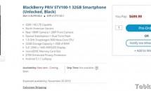 B&H、『BlackBerry PRIV』(STV100-1)の予約開始―価格・送料