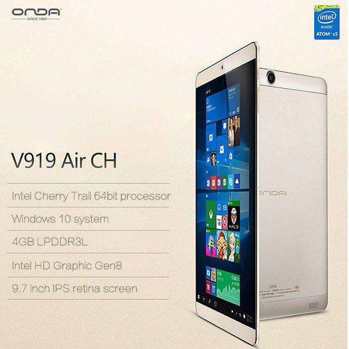 iPad Airクローン、RAM4GBの『Onda V919 Air CH』は買いか