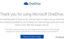 Microsoft『OneDrive』、無料容量15GBは申請で維持可能に―手続き方法