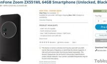 個人輸入できるB&Hで『ASUS ZenFone Zoom ZX551ML』予約開始、価格と出荷予定日
