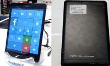 7.85型+Rockchip RK3288WなWindows 10 Mobile版タブレット『PIPO U8T』発表―スペック