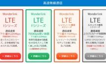 Wonderlinkの『F-使い放題700』はWiMAX代替なるか、魅力と1日1G規制など
