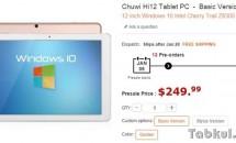 RAM4GB+64GB+Z8300な12型『Chuwi Hi12』が予約受付開始、価格
