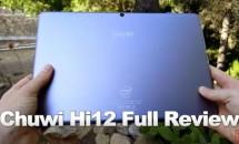 RAM4GB搭載12型『Chuwi Hi12』の約30分ハンズオン動画が投稿される