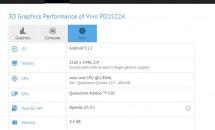 "RAM6GBスマホ『Vivo XPlay 5』か、GFXBenchに""PD1522A""登場"