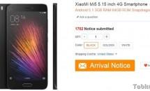 RAM最大4GB/5型『Xiaomi Mi 5』間もなく予約開始、価格は約5.20万円~か