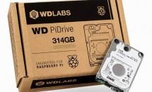 Raspberry Pi向けHDD『WD PiDrive 314GB』発売、マルチブート対応/価格・動画