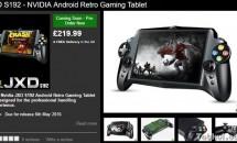 ゲーミングタブレット『JXD S192』が英国で予約受付を開始、価格・発売日