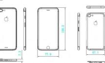 「iPhone7」「iPhone 7 Plus」の図面リークか