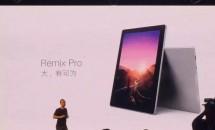 Jideが12型2in1『Remix Pro』発表、一部スペック・製品画像も公開