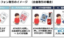 セブン銀行、スマートフォンで全国ATMから入出金が可能に