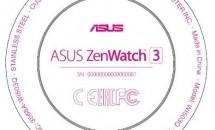 ASUS ZenWatch 3 (W1503Q)がFCC通過、初の円形スマートウォッチで一部スペックも