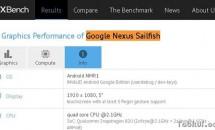 Google Nexus SailfishがGFXBenchに掲載、スペック情報も