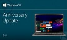 Microsft、Windows 10 Anniversary Update (build 14393) ISOファイル公開