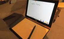 ワコム搭載2in1『Lenovo Yoga Book』のハンズオン動画、手書き入力など