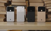 Google Pixel の4色レンダリング画像が登場