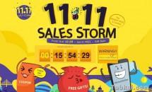 GEARBEST、独身の日セール『11.11 SALES STORM』でASUS ZenFone 3などが値下げ中