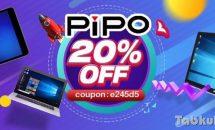 Banggood、PIPO製品20%OFFクーポン配布中―1024段階ペン搭載PIPO W1Proなど対象に