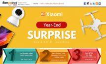 Banggood、「Xiaomi年末セール」開催中―3日間限定セールほか