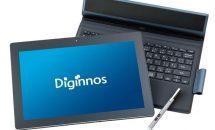 ドスパラ、筆圧感知/Core m3搭載2in1「Diginnos DGM-S12Y」販売開始―価格・スペック