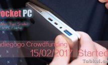 7型ノートパソコン『GPD Pocket』、2月15日よりキャンペーン開始―スペック・価格