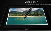 Acer、ペン対応2in1『Switch 5』発表―Core i7でファンレスに指紋センサーなどスペック