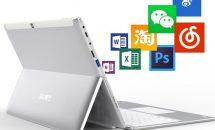 12.3型『Cube iWork 3X』発表、Surface ProスタイルのRAM6GB+128GB搭載2in1/スペック・価格