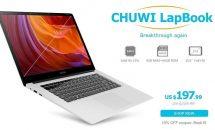 15.6型CHUWI LapBookや10.6型Cube iPlay10が特価に、7日間セールも開催中 #Banggood