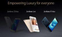 ASUS ZenFone 4シリーズ3機種(4/4S/4 MaX)のスライド画像リーク、COMPUTEX 2017で発表か