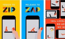 Apple 今週の無料App、パズルゲーム『Zip—Zap』を通常240円→0円で配布中
