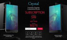 3辺ベゼルレスで1.1万円~、『UMIDIGI Crystal』登場―RAM最大4GBなど一部スペック・ハンズオン動画