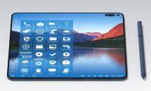 折り畳みスマホ『Surface Note』のコンセプト画像、タブレット化やSurface Pen対応など