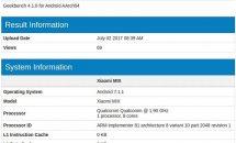 Xiaomi Mi MIX 2がGeekBenchに登場、RAM6GBなどスペック・スコア