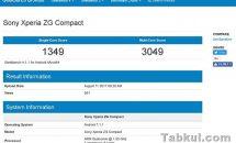 謎の「Sony Xperia ZG Compact」がGeekbenchに登場、スペック