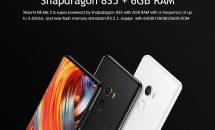 最新ベゼルレス『Xiaomi Mi Mix 2』など3製品クーポン配布中 #Geekbuying