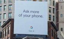 Google Pixel2 / Pixel2XL 発表イベントは10月4日に開催か、街頭広告を設置