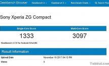 Sony Xperia ZG Compact が Geekbenchに登場、一部スペック・スコア