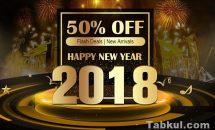 GPD Pocketも対象に、Geekbuying今年最後のセール「Happy New Year 2018」実施中