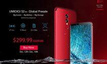 RAM6+128GBのベゼルレス6型『UMIDIGI S2 PRO』予約セールとクーポン #Banggood