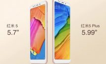 Xiaomi Redmi 5/5 PLUS発表、2機種のスペック・価格・発売日・対応周波数