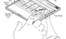Microsoft折り畳みタブレットが特許サイトに、デュアル液晶の隙間が狭いなど